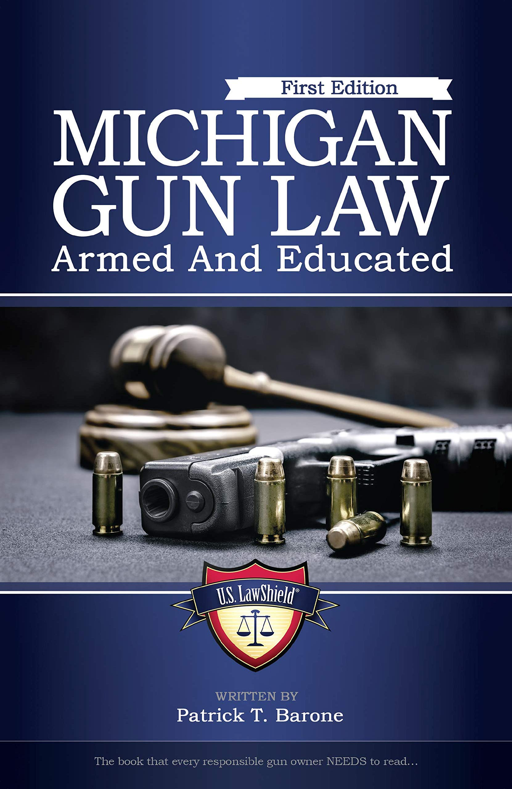 New Book Covers Everything You Need to Know about Self-Defense Laws in Michigan